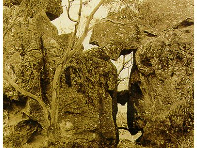 Hanging Rock Woodend Australia