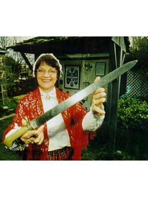 """Peter Lalor's original """"Eureka"""" Sword"""