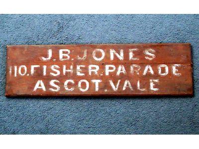 J.B. Jones Sign