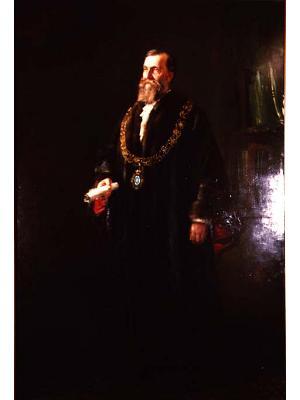 Portrait of Alderman Samuel Amess