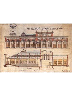 Plan of People's Theatre and Circus Building