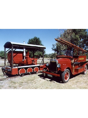 Day's Rail Tractor