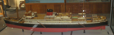Model of HMAS Kanimbla