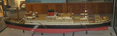 Model of HMAS Kanimbla