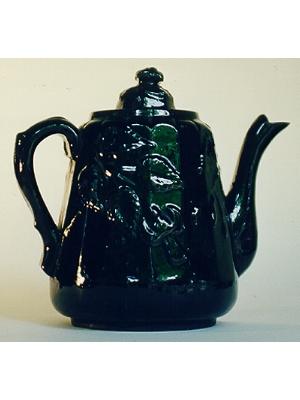 Teapot, Fuschia Pattern
