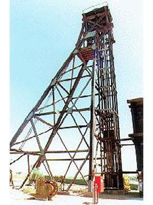 Hamilton Shaft Headframe