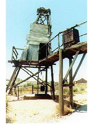 Daisy Mae Headframe (Daisy North Shaft)
