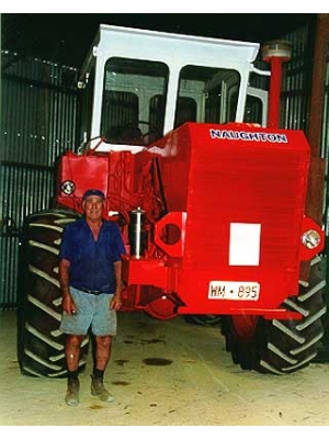 Naughton Four Wheel Drive Tractor