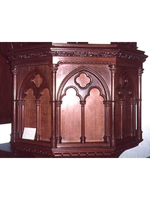 St Andrew's Anglican Church Pulpit