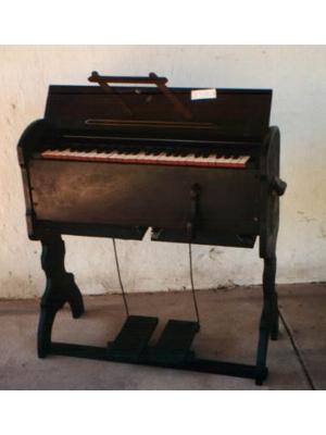 Portable pedal organ