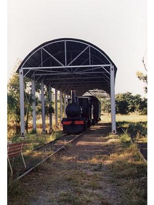 Steam Railway Engine #5
