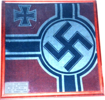 German Battle Ensign WWII