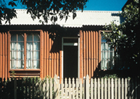 19th Century Portable Iron Houses
