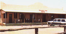 The Walkabout Creek Hotel - used in Paul Hogan's movie 'Crocodile Dundee'.
