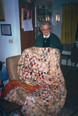 Joyce Hedges, great grand-daughter of Sophia 1998