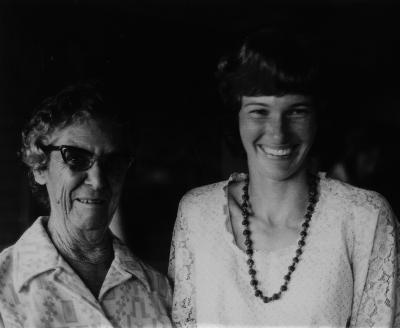 Emmiline Marsland & Phillipa Harvey(Stevens)1978