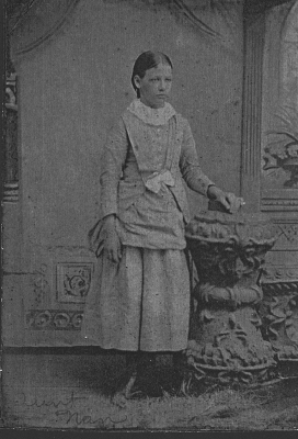 Nancy Melvina Kelso c.1888