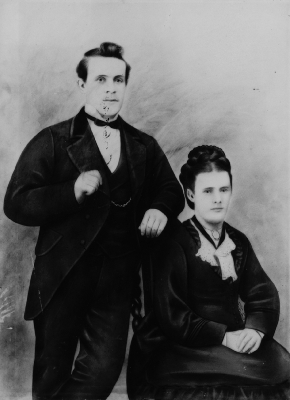 Tom and Elizabeth Smith c.1892
