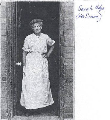Sarah Hodge, Wales.