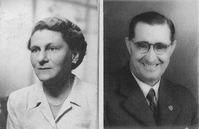 Photo of Mr & Mrs Gordon Sides 1939