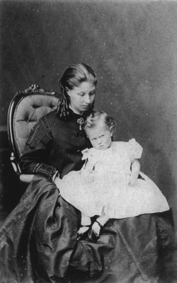 Jeanette Cullen with son Jack,1869