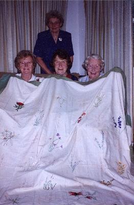 The Hart sisters. Alice, Barbara, Linley and Lorna