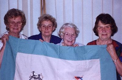 The Hart sisters, Barbara, Alys, Lorna,Linley
