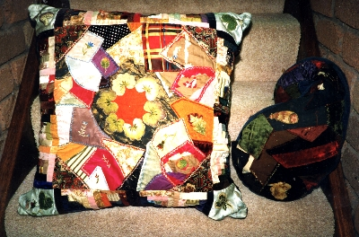 Cushion made by Ivy