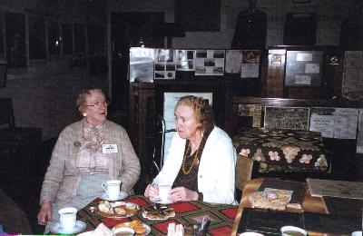 Alma Birkin and Florence Beaton (cousins) 1995