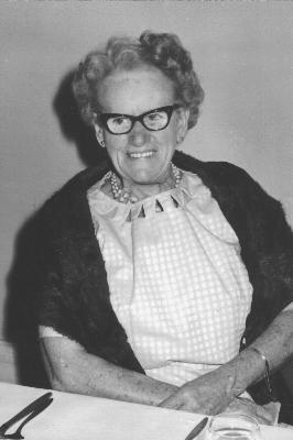 The quilt maker Clare Trevillian