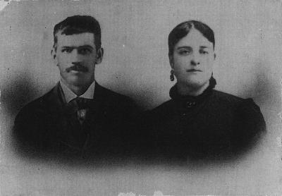 Robert and Margaret May, c.1888