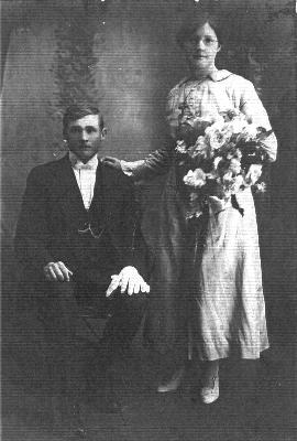 Margaret and Arthur Flint, 1919