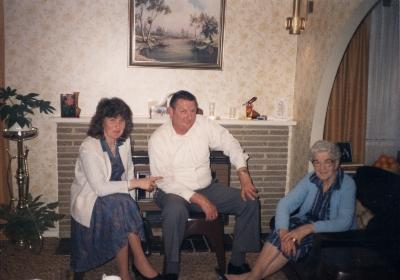 Joan and Stewart McGregor with Florence McGregor