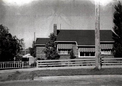 The post war Housing Commission house at Moorabbin