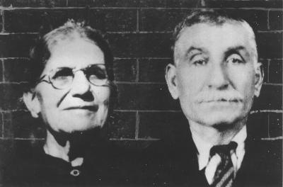 Maria Kazaglis (1885-1964) and Vassili Kazaglis (1870-1936)
