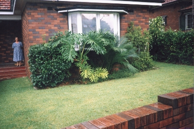 The house in Earlwood where the quilt was made, 2000