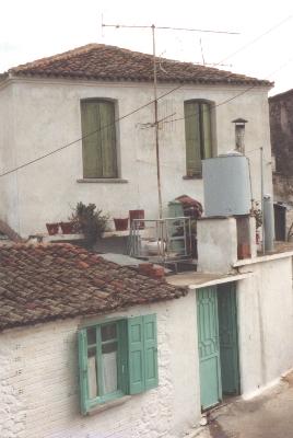 Maria Politis' family home Aghia Paraskevi, 1986