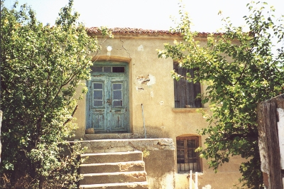House belonging to the Kalenderidis Family, Limnos